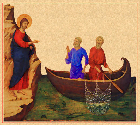 Fifth Sunday in Ordinary Time Year C 7th February 2016